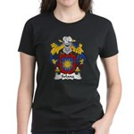 Solana Family Crest Women's Dark T-Shirt