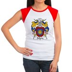Solana Family Crest Women's Cap Sleeve T-Shirt
