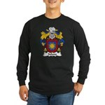 Solana Family Crest Long Sleeve Dark T-Shirt