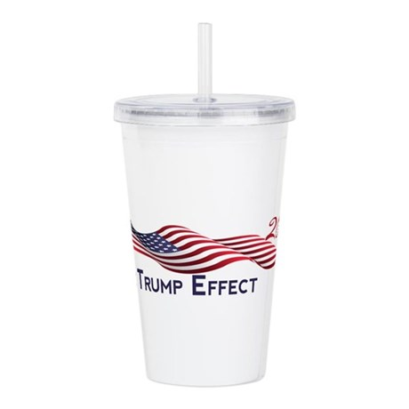 The Trump Effect 2016 Acrylic Double-wall Tumbler