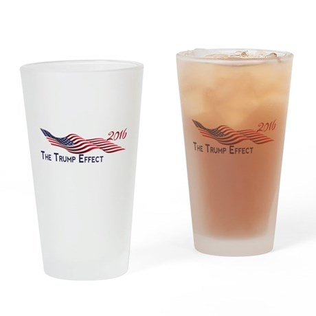 The Trump Effect 2016 Drinking Glass