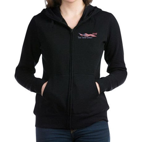 Election 2016 The TRUMP Effect Women's Zip Hoodie