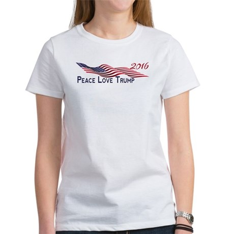 Peace Love Trump 2016 T-Shirt