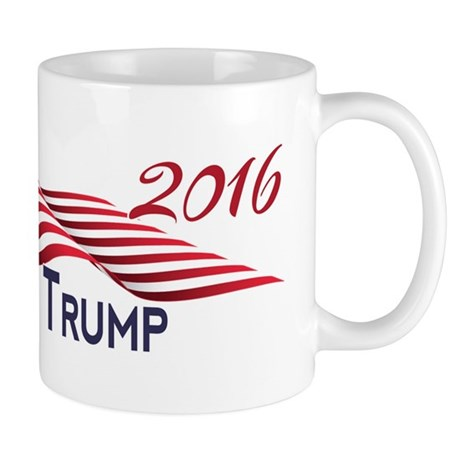 Peace Love Trump 2016 Mugs