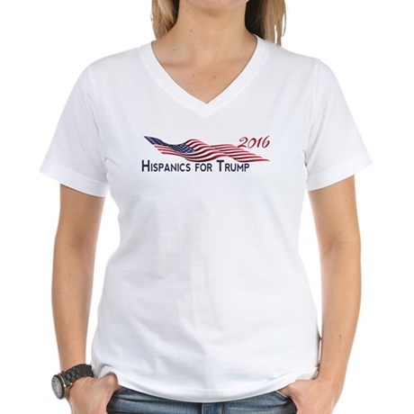 Hispanics for TRUMP 2016 T-Shirt