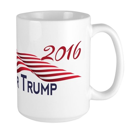 Hispanics for TRUMP 2016 Mugs