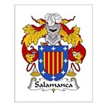 Salamanca Family Crest Small Poster