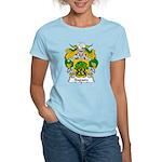 Sagasta Family Crest Women's Light T-Shirt