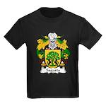 Sagasta Family Crest Kids Dark T-Shirt