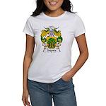 Sagasta Family Crest Women's T-Shirt