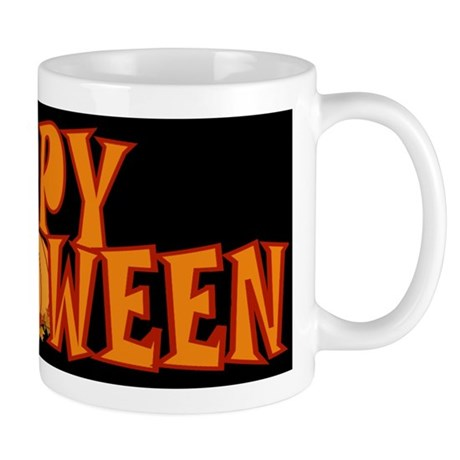 Happy Halloween Pumpkin Mug