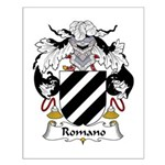 Romano Family Crest Small Poster