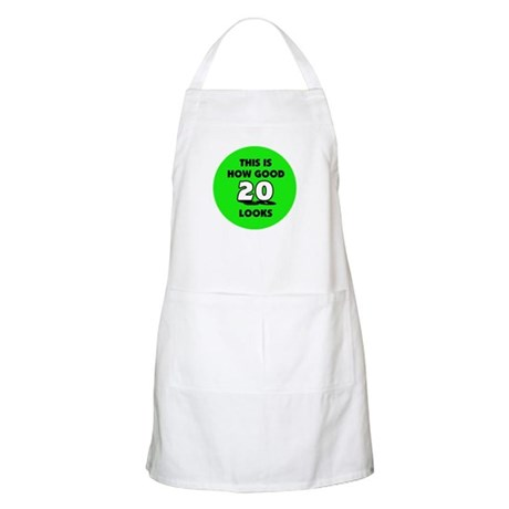 20th Birthday - Happy Birthday BBQ Apron