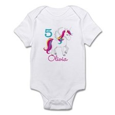 Unicorn Birthday Onesie