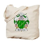 Quincoces Family Crest Tote Bag