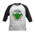 Quincoces Family Crest Kids Baseball Jersey