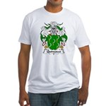Quincoces Family Crest Fitted T-Shirt