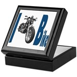 I Bike Keepsake Box
