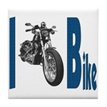 I Bike Tile Coaster