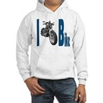 I Bike Hooded Sweatshirt