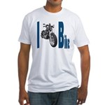 I Bike Fitted T-Shirt