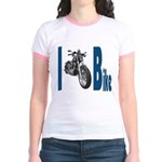 I Bike Jr. Ringer T-shirt