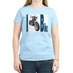 I Bike Women's Pink T-Shirt