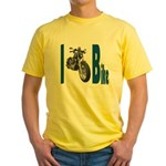 I Bike Yellow T-Shirt