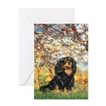 Spring & Cavalier (BT) Greeting Card