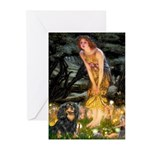 Fairies & Cavalier (BT) Greeting Cards (Pk of 20)