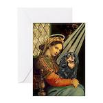 Madonna & Cavalier (BT) Greeting Card