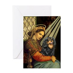 Madonna & Cavalier (BT) Greeting Card