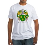 Pino Family Crest Fitted T-Shirt