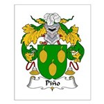Pino Family Crest Small Poster