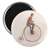 "Vintage Ordinary Bike 2.25"" Magnet (100 pack)"