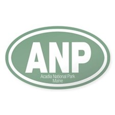 Acadia National Park Oval Bumper Stickers