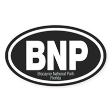 Biscayne National Park Oval Decal
