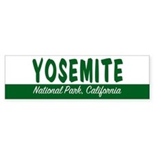 Yosemite National Park Bumper Bumper Sticker