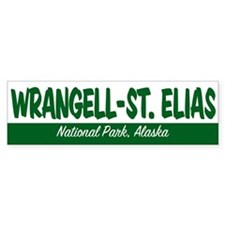 Wrangell-St. Elias National Park Bumper Bumper Sticker