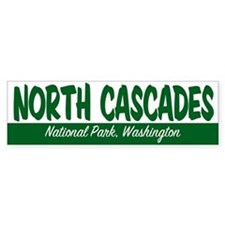 North Cascades National Park Bumper Bumper Sticker