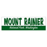 Mount Rainier National Park Bumper Bumper Sticker