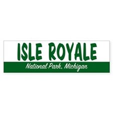 Isle Royale National Park Bumper Bumper Sticker