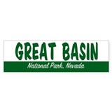 Great Basin National Park Bumper Bumper Sticker