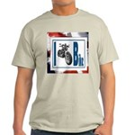 I Bike Ash Grey T-Shirt