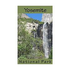 Yosemite NP (Vertical) Rectangle Decal