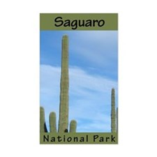 Saguaro NP (Vertical) Rectangle Decal