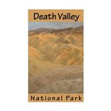 Death Valley NP (Vertical) Rectangle Decal