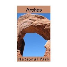 Arches NP (Vertical) Rectangle Decal
