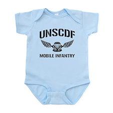 UNSCDF Mobile infantry Infant Bodysuit