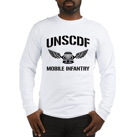 UNSCDF Mobile infantry Long Sleeve T-Shirt